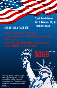 4TH OF JULY PACKAGE